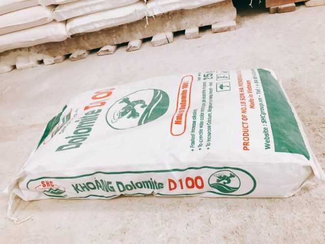 why add dolomite to soil?