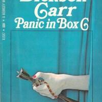 Panic in Box C - John Dickson Carr
