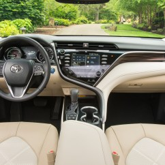All New Camry 2019 Malaysia Cicilan Grand Veloz 2018 Toyota Xle Hybrid Front Interior The Green