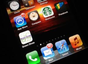 Green Divas iPhone App