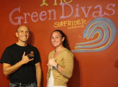 john and christine from surfrider foundation