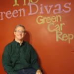 John Voelcker @ the Green Diva Stuio