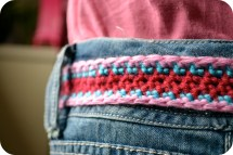 Girls Crochet Belt Free Pattern Year Of Clean Water