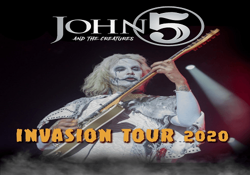 Twins Of Evil Tour 2020.John 5 And The Creatures Confirm 2020 Tour With Queensryche