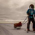 O jovem que esquiou da Antártica ao Polo Sul para entender as mudanças climáticas