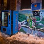 NY espalha pelas ruas vending machines com peças para bikes