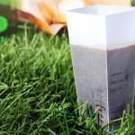 A embalagem de café que vira copo (e evita o uso de descartáveis)