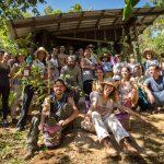 Jovens passam feriado em comunidade quilombola trocando experiências de permacultura
