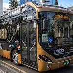 Curitiba ganha seu primeiro ônibus elétrico híbrido, que circula em uma linha regular da cidade
