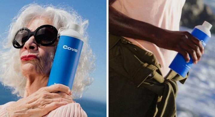 Empresa lança garrafa que é biodegradável na água, na areia e até no lixo