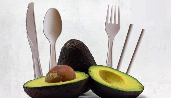 Nada de usar descartáveis! México produz talheres e canudos biodegradáveis com caroço de abacate