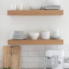 Kitchen Wall Shelf Sink Vent 3 Ways To Style Open Shelves The Green Eyed Girl