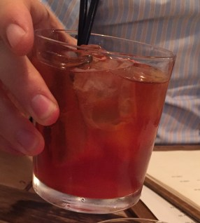 Galangal Americano is a summery, ginger infused negroni