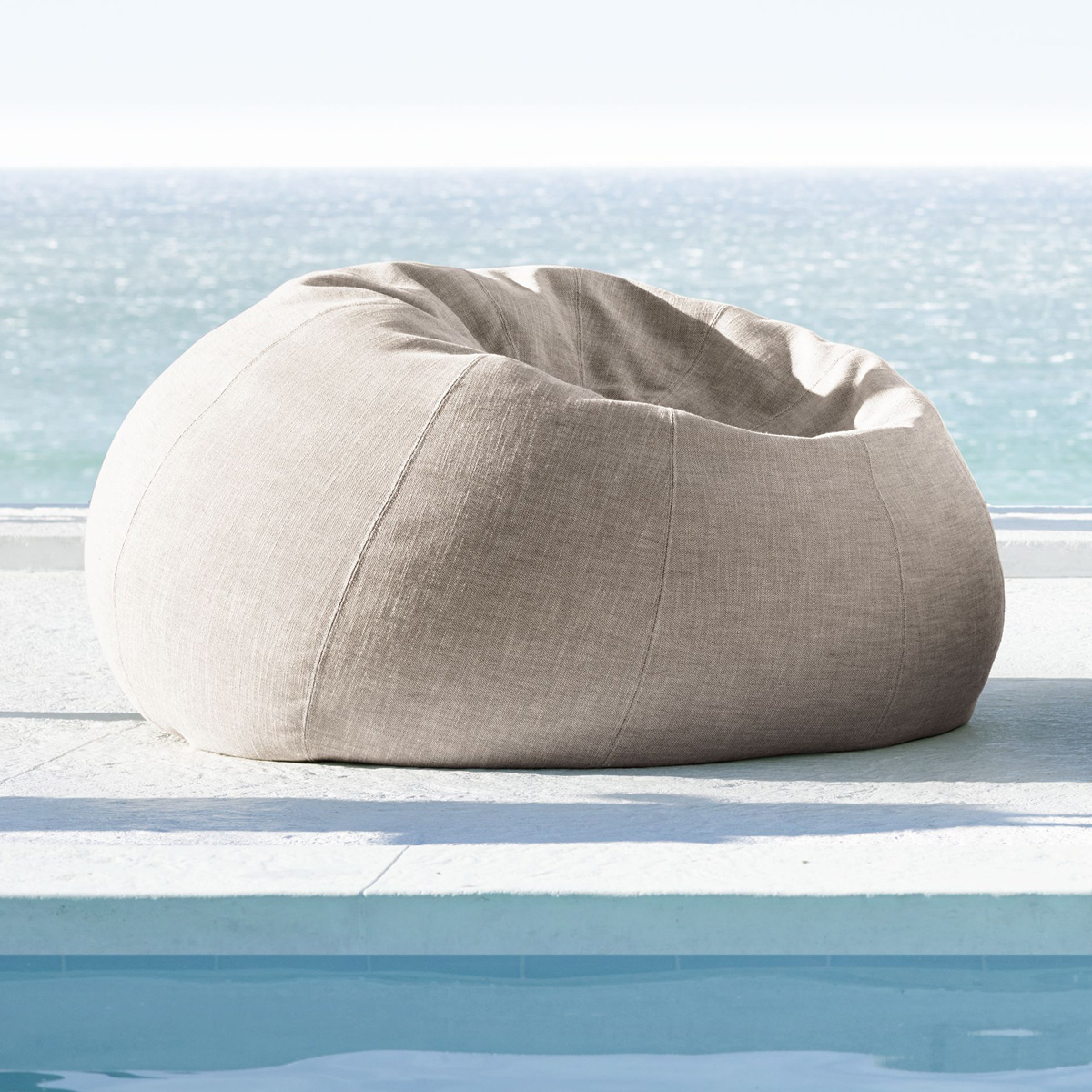 Outdoor Bean Bag Chairs Outdoor Bean Bag Chair The Green Head