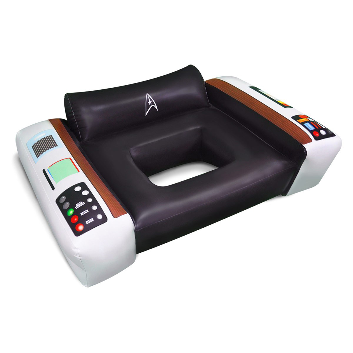 Pool Float Chairs Star Trek Captain 39s Chair Pool Float Thegreenhead