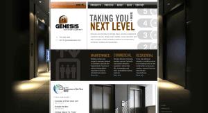 Old Genesis Home Page & Branding