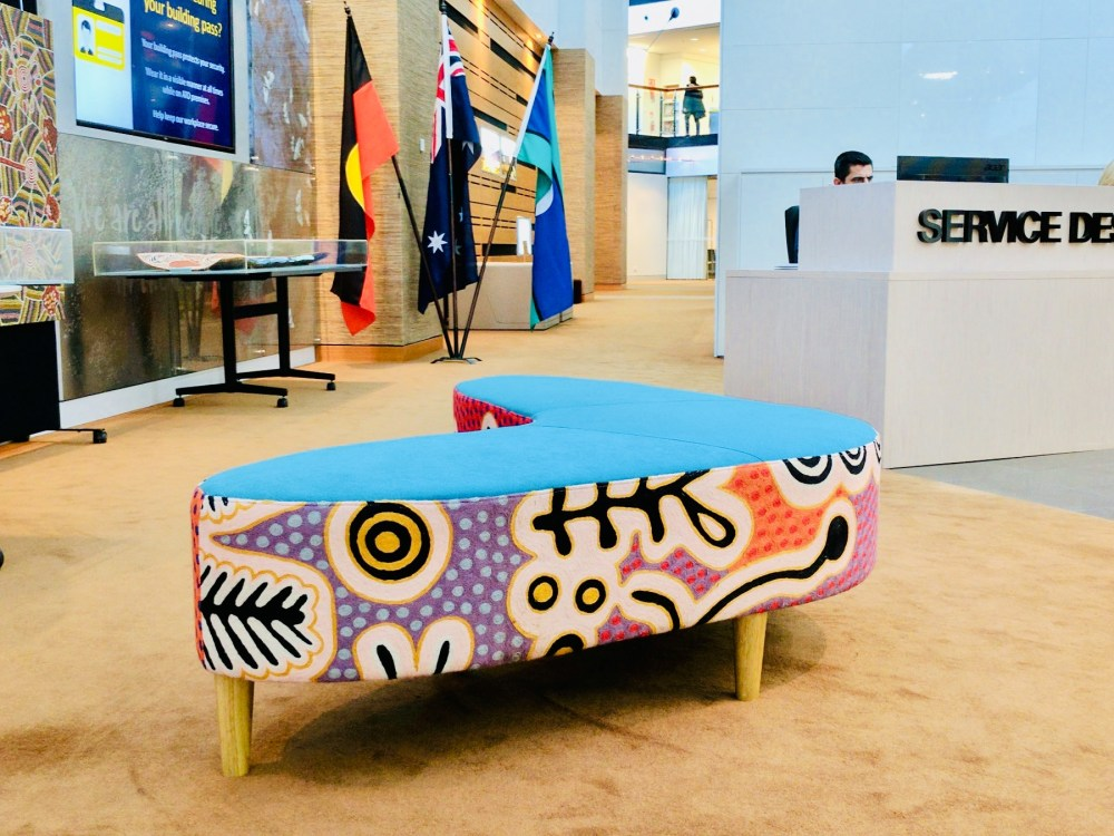 Feature piece in the Australian Taxation Office foyer