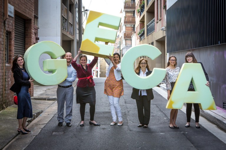 Greenwash Geca team