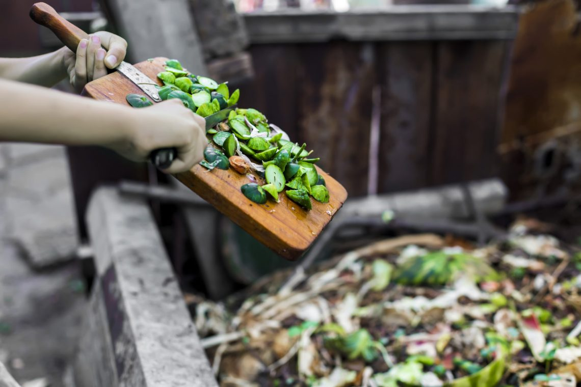 Food waste to fertiliser and back to food with enrich360