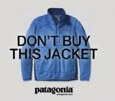 Don't Buy This Jacket Patagonia Campaign