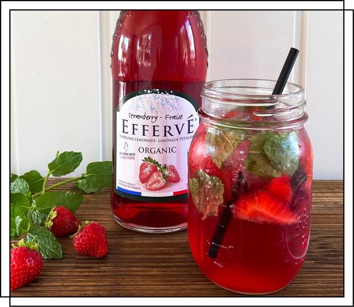 Jordbær mojito drink