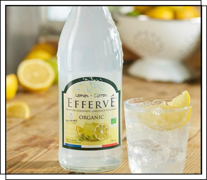 Effervé Økologisk Lemon sodavand med en dejlig og frisk kombination af citrusfrugter
