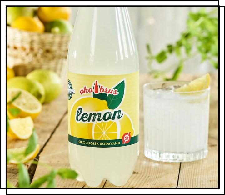 ØkoBrus Lemon er en frisk variant med en dejlig smag af citrusfrugter
