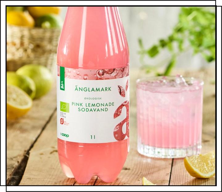 Coop Änglamark Pink Lemonade er en private label sodavand fra The Green Oak