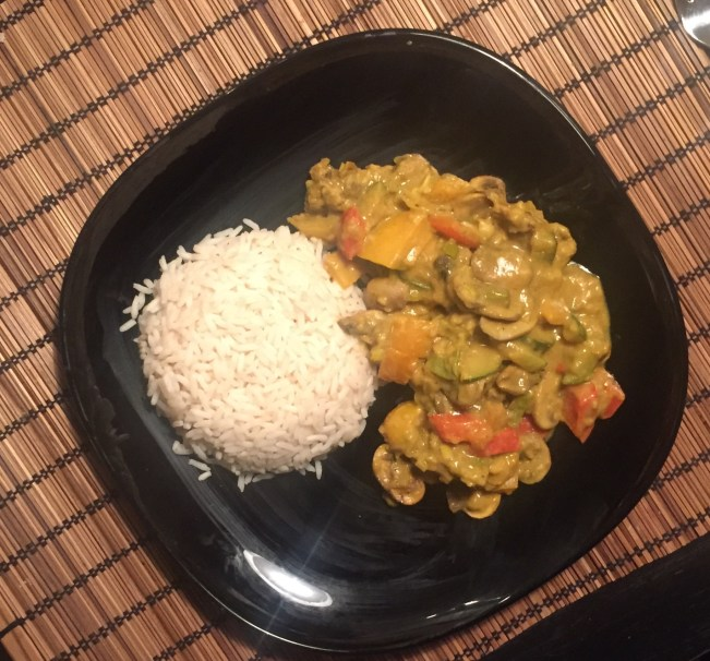 Curry Madras di verdure
