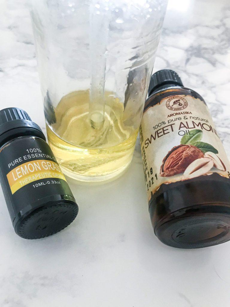 Olio anticellulite fatto in casa