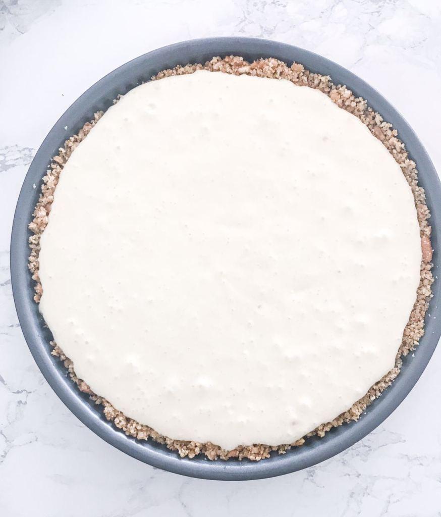 La crema della cheesecake