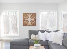 Modern Farmhouse Living Room Renovation - The Greenspring Home