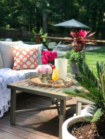 Summer Outdoor Living Tour - Greenspring Home