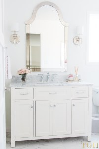 Simple Design Tips for All White Bathrooms - The ...