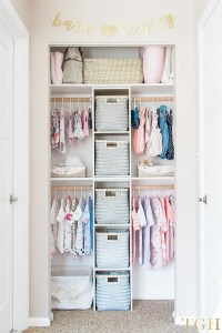 Build This Custom Nursery Closet for $100 - The ...