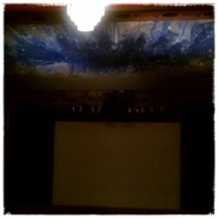 What a beautiful place to watch a movie!