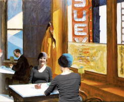 RECREATION: 'Chop Suey' -Edward Hopper, 1929