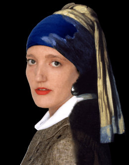 RECREATION: 'Girl with a Pearl Earring' - Johannes Vermeer, circa 1665
