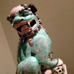 Male Lion, Qing Dynasty (1644-1911), Kangxi era (1662-1722)