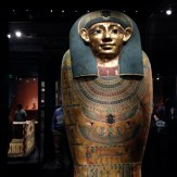 Inner coffin of Meret-it-es, Late Period to Ptolemaic Period, ca. 380-250 B.C.E.