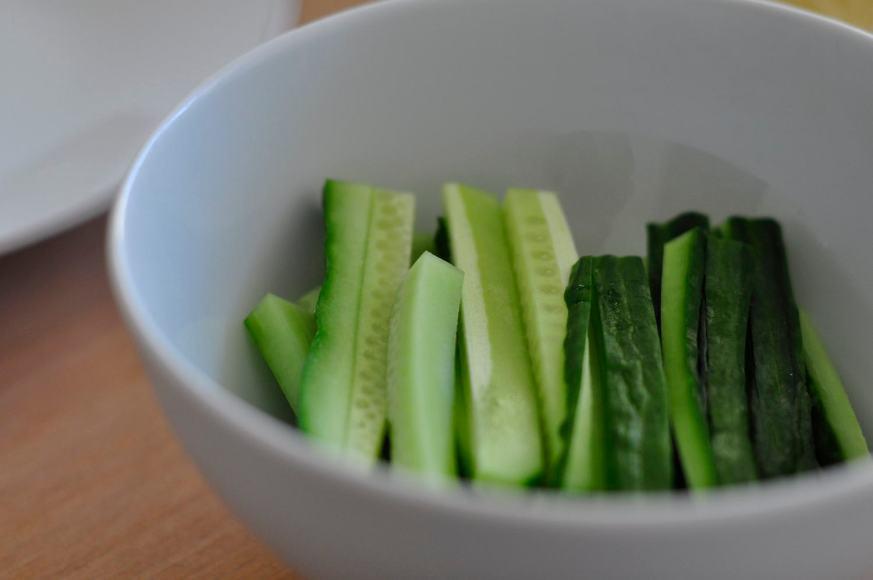 Cucumber-Springrolls