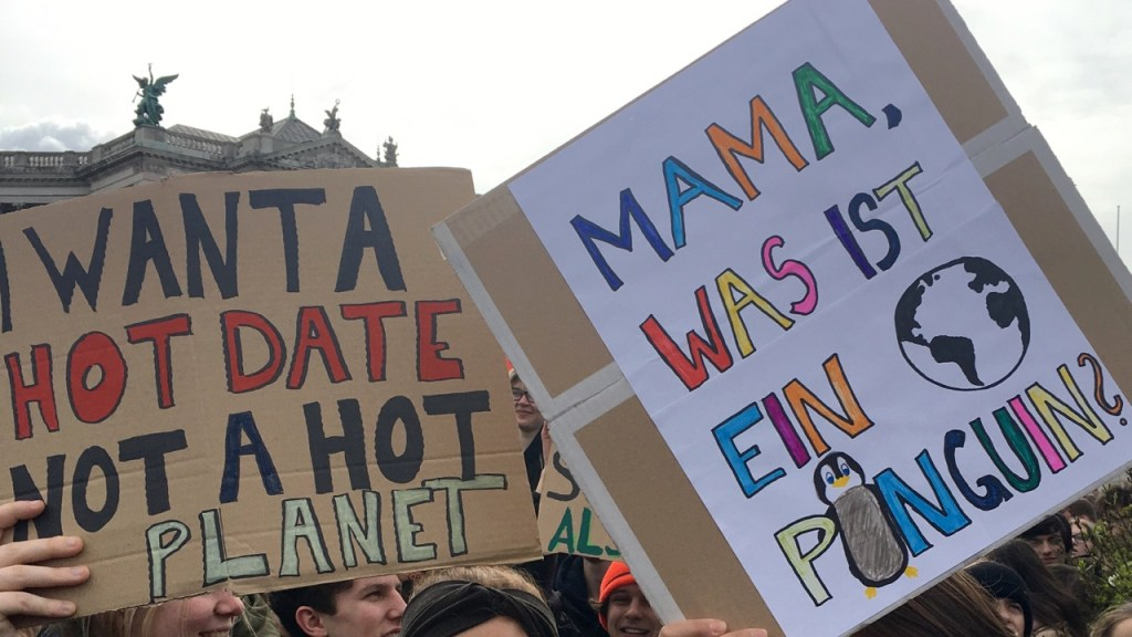 the green walnuts - fridays for future - mama was ist ein pinguin