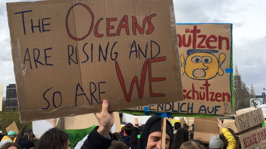 the green walnuts - fridays for future - the oceans are rising and so are we