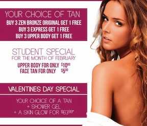 Get The Perfect Shade Of Bronze For Valentine's Day @ZenBronze