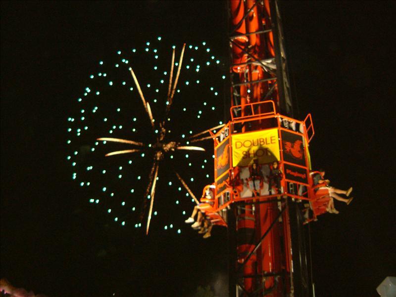 Playland Amusement Park_ Fireworks