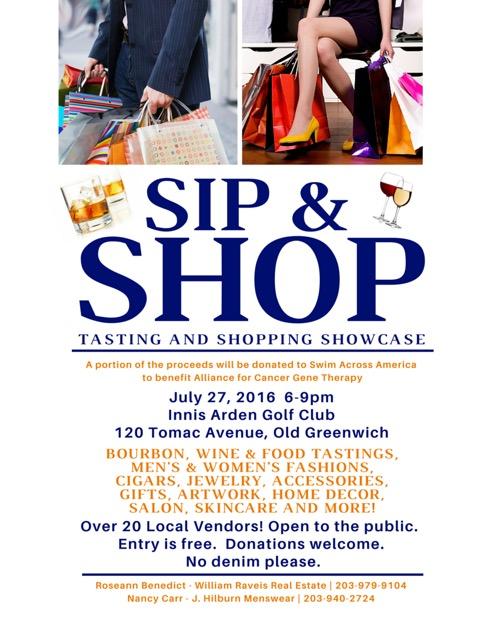 Flyer Sip & Shop FINAL