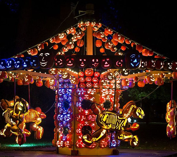MUST SEE: The Great Jack O'Lantern Blaze
