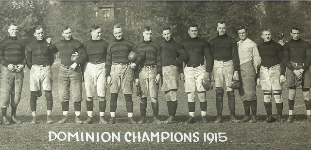 1915 Grey Cup Champions