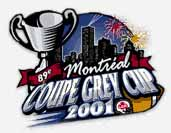 2001 Coupe Grey Cup