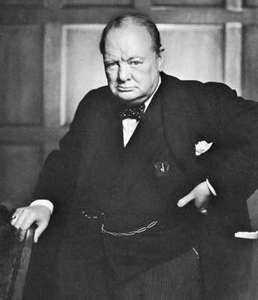 Making like Churchill: Practicing small acts of existentialism in college